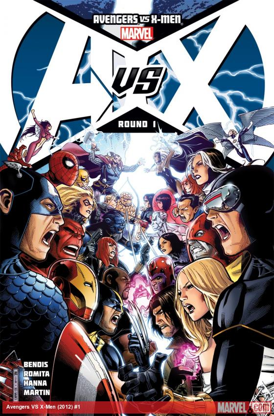 Avengers VS X-Men (2012) #1