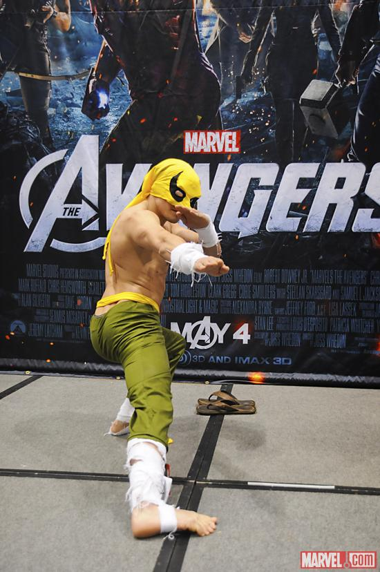 C2E2 2012: Iron Fist at the Marvel Costume Contest