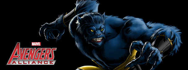 Avengers Alliance: Beast Banner - black