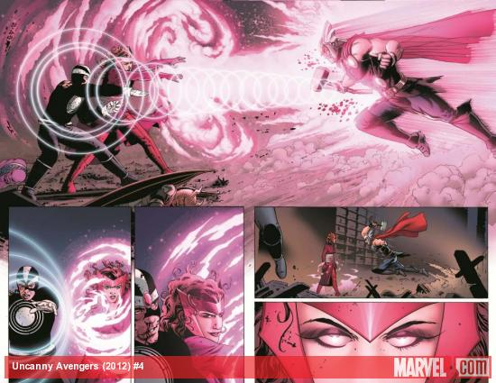 Uncanny Avengers #4 preview art by John Cassaday