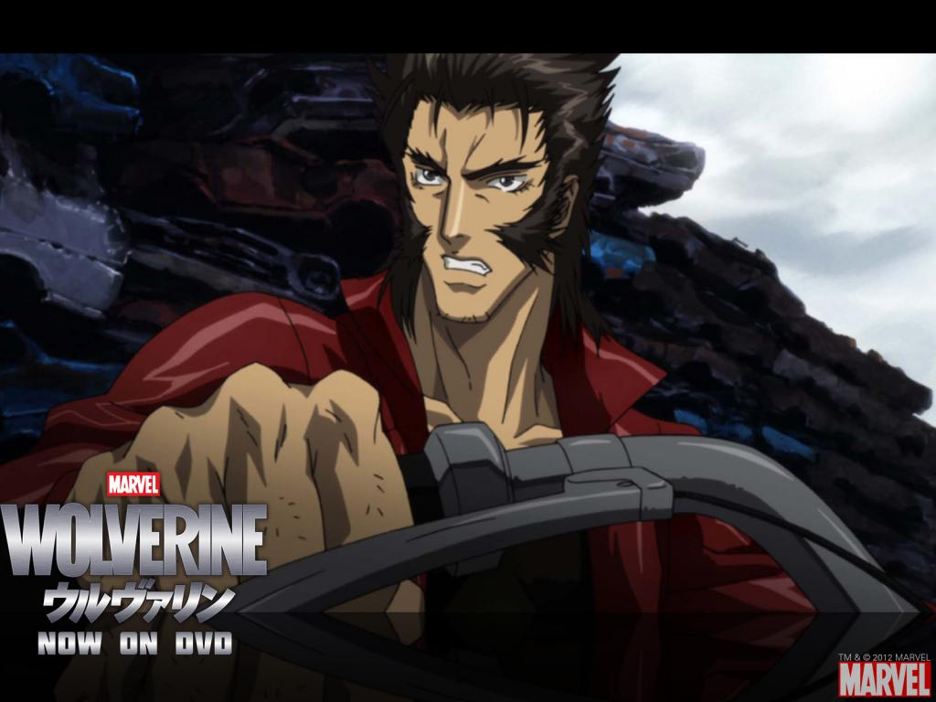 Wolverine Anime Series Wallpaper #1