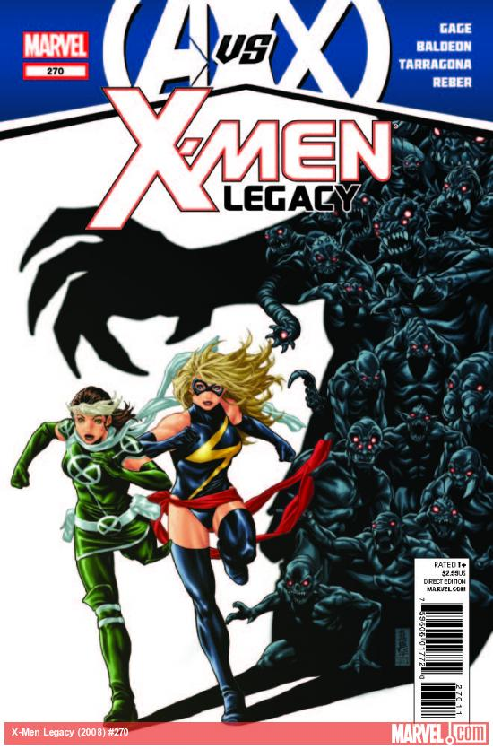 X-MEN LEGACY 270 (AVX)