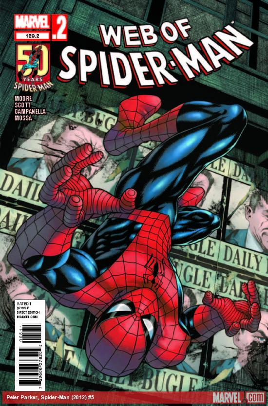 WEB OF SPIDER-MAN 129.2