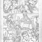 Fear Itself: The Fearless #6 preview pencils by Paul Pelletier