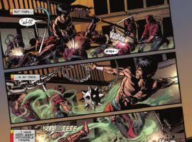 SECRET AVENGERS #6 preview page by Mike Deodato