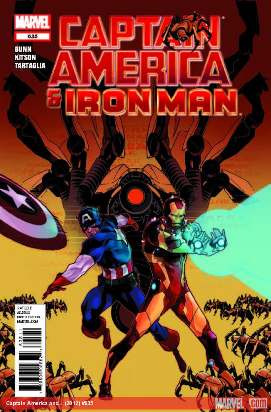 CAPTAIN AMERICA AND IRON MAN 635