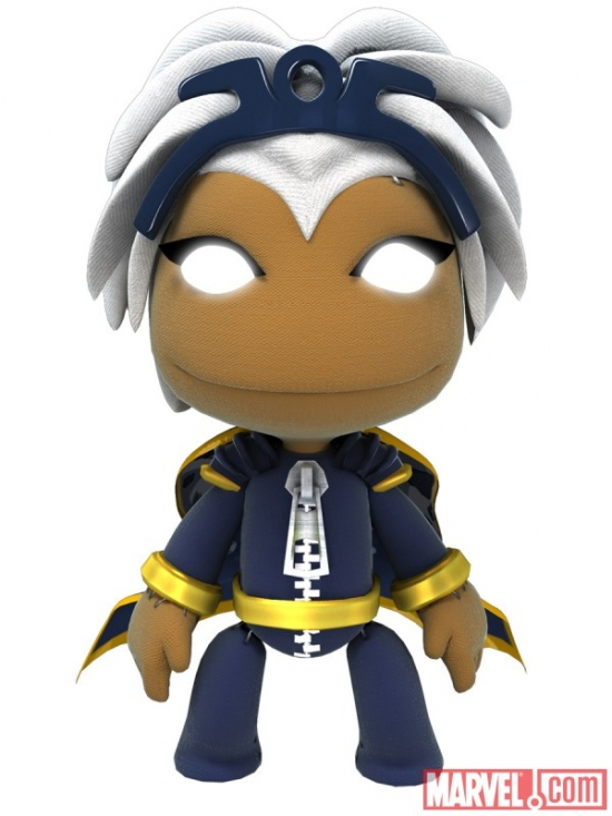 Storm costume in LittleBigPlanet