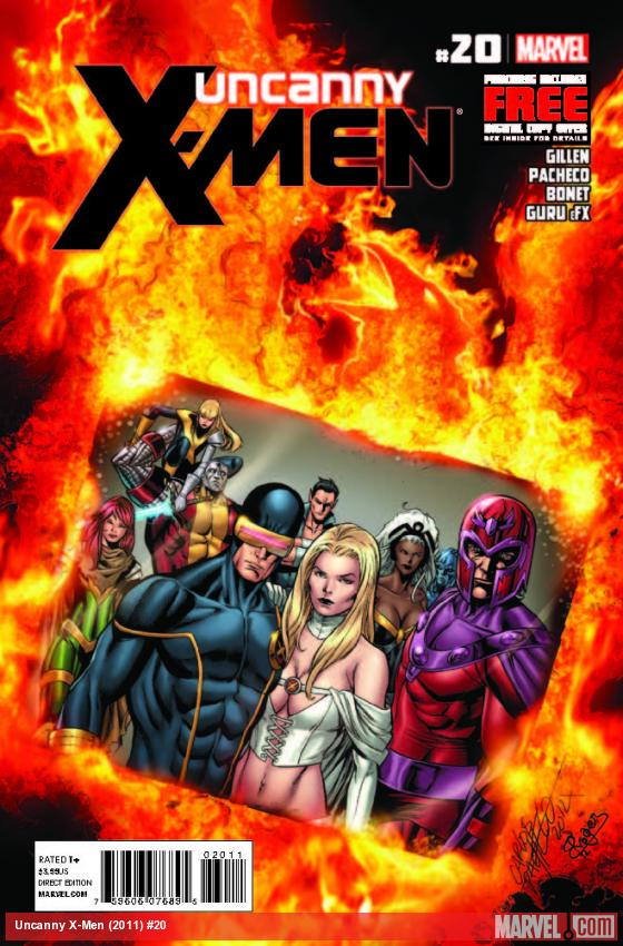 UNCANNY X-MEN 20 (WITH DIGITAL CODE)