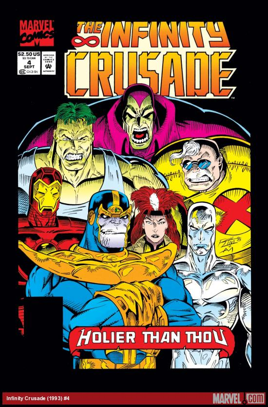 Infinity Crusade (1993) #4 Cover
