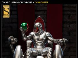 Classic Ultron on Throne