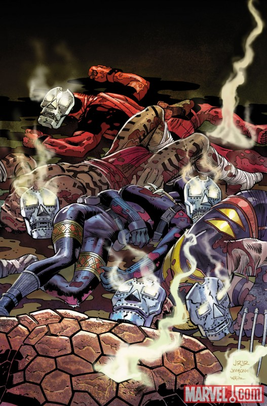 Image Featuring Black Panther, Deadpool, Thing