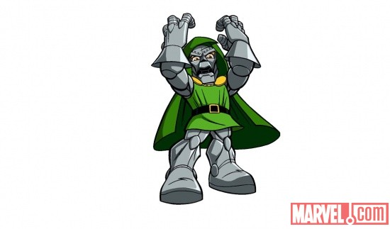Doctor Doom from The Super Hero Squad Show