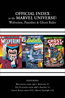 Wolverine, Punisher & Ghost Rider: Official Index to the Marvel Universe Marvel Universe (2011) #1