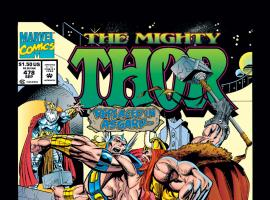 Thor (1966) #478 Cover