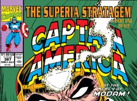 Captain America (1968) #387 Cover
