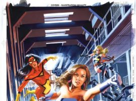 NEW AVENGERS ANNUAL #3 cover by Mike Mayhew