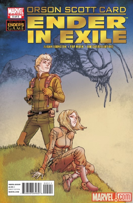 ORSON SCOTT CARD'S ENDER IN EXILE #5 cover by Sebastian Fiumara