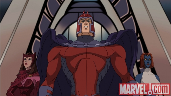 Image Featuring Magneto, Mystique