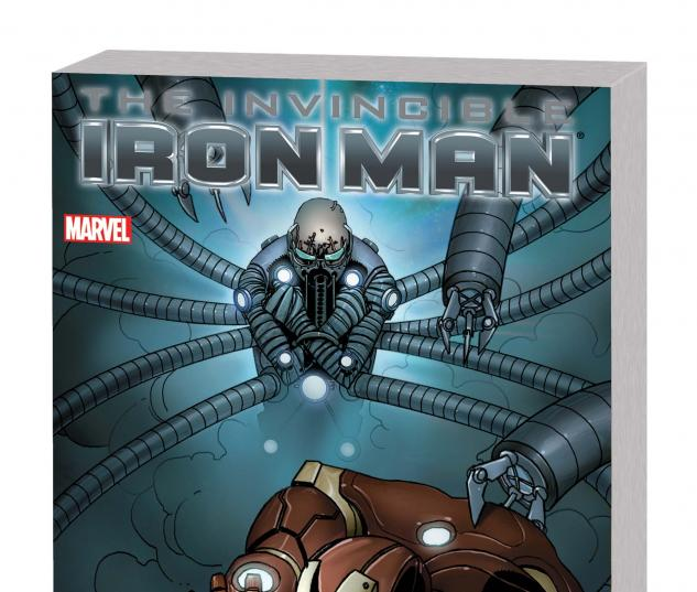 INVINCIBLE IRON MAN VOL. 8: UNFIXABLE TPB Cover