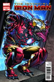 Invincible Iron Man (2008) #512 (Venom Variant)
