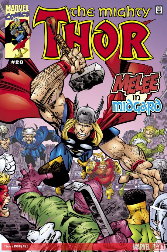 Thor (1998) #28 Cover
