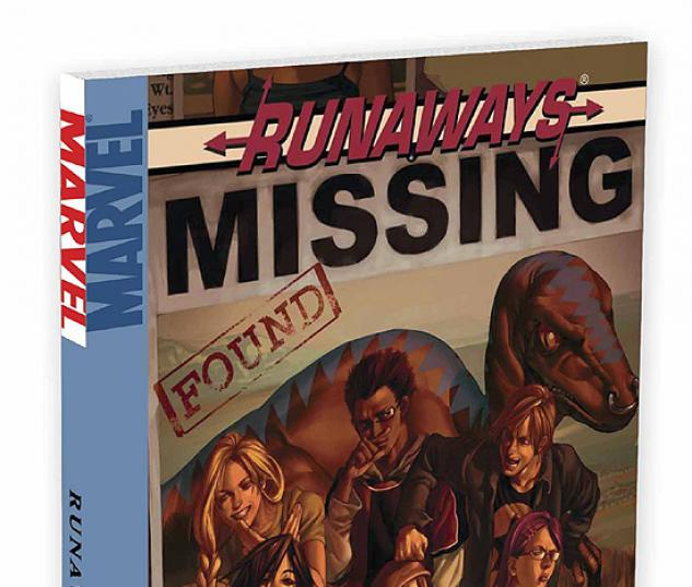 RUNAWAYS VOL. 3: THE GOOD DIE YOUNG COVER