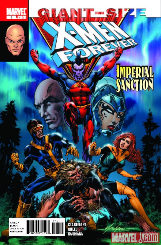Image Featuring Cyclops, Gladiator (Kallark), Jean Grey, Lilandra, Professor X