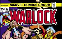 Warlock (1972) #12 Cover