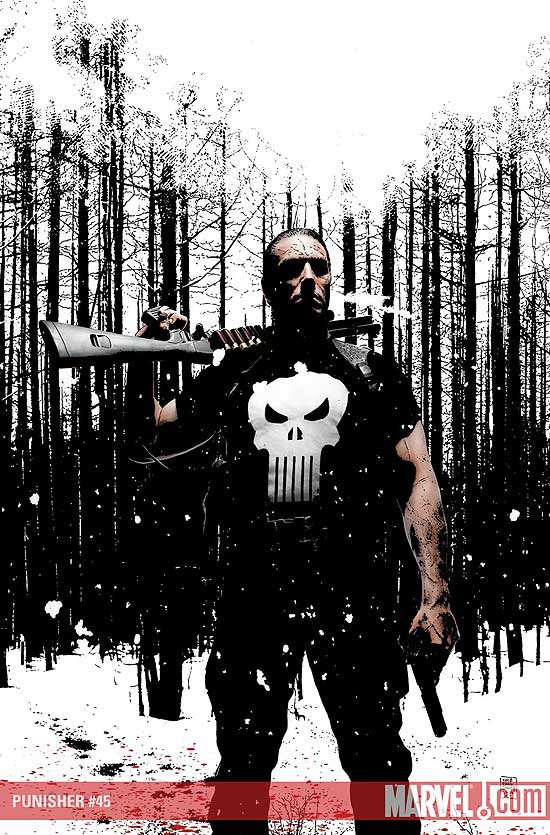 PUNISHER #45 COVER