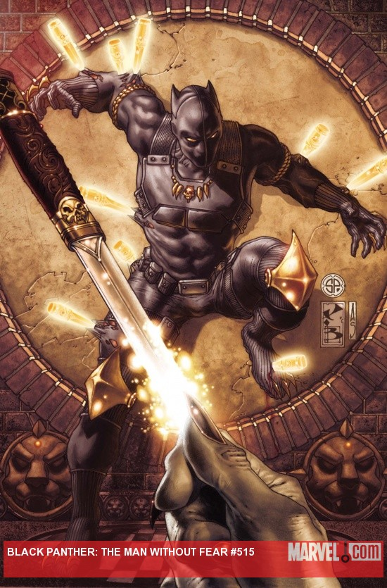 Black Panther: The Man Without Fear #515 cover by Simone Bianchi