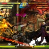 Screenshot of Thor vs. Chris and Dante from Marvel vs. Capcom 3