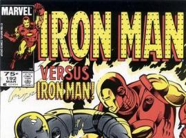 Iron Man #192 cover
