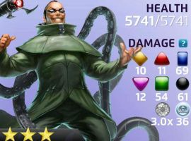 Doc Ock in Marvel Puzzle Quest