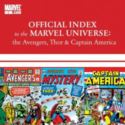 Avengers, Thor &amp; Captain America: Official Index to the Marvel Universe (2010) #1