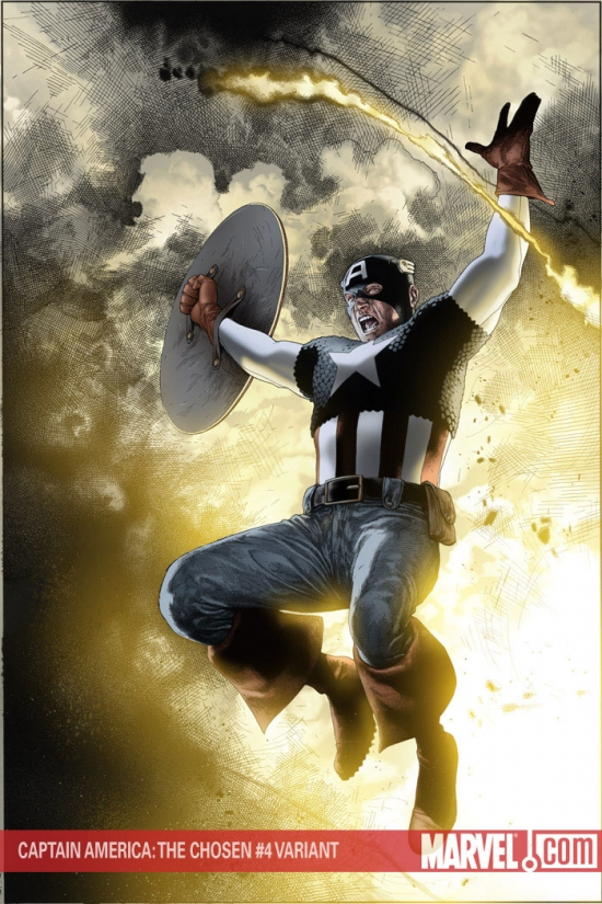 CAPTAIN AMERICA: THE CHOSEN 4 CHAREST (50/50) #4