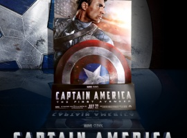 Captain America: The First Avenger Standee