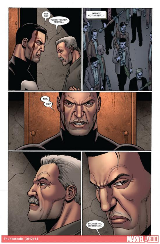 Thunderbolts (2012) #1 preview page by Steve Dillon
