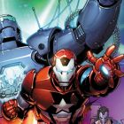 INVINCIBLE IRON MAN #25 iPhone Wallpaper