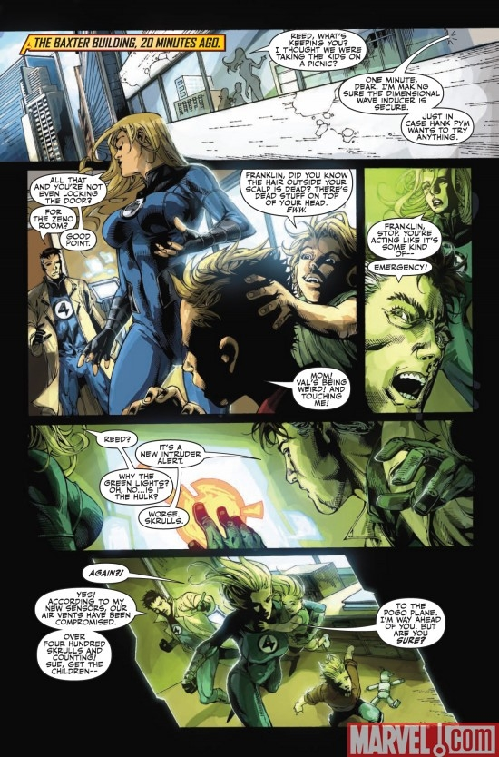 MIGHTY AVENGERS #26, Page 3