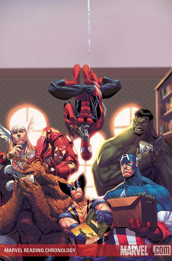 MARVEL READING CHRONOLOGY #5
