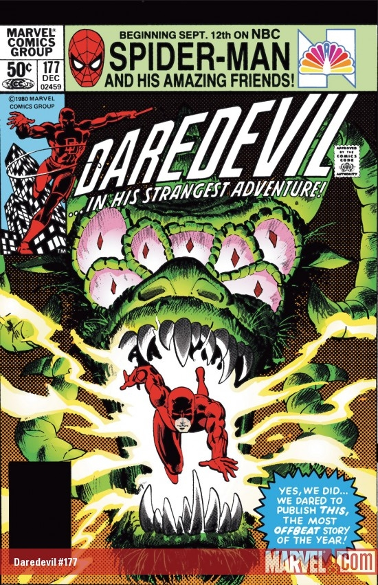 DAREDEVIL #177 COVER