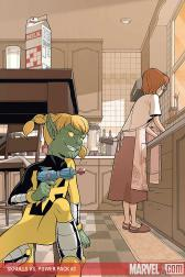 Skrulls Vs. Power Pack #3