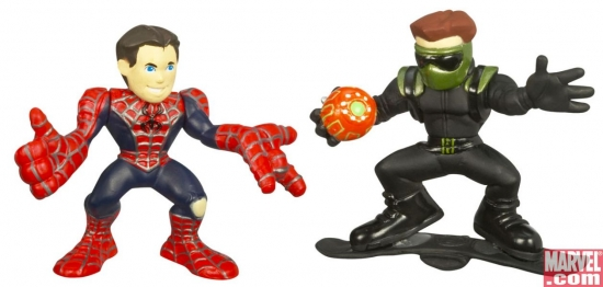 Spider-Man and New Goblin