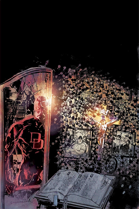 DAREDEVIL: REDEMPTION (2006) #3 COVER