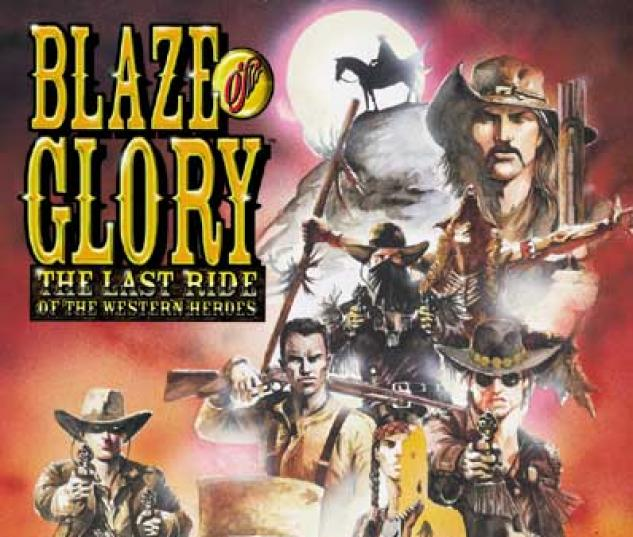 BLAZE OF GLORY TPB COVER