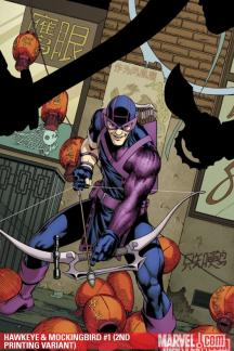 Hawkeye &amp; Mockingbird (2010) #1 (2ND PRINTING VARIANT)