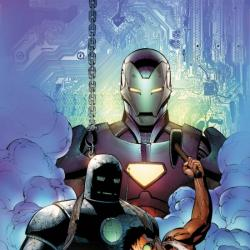 Iron Man: Requiem #1 cover by Patrick Zircher