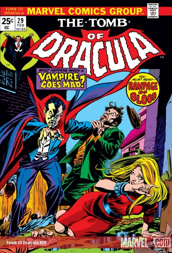 Tomb Of Dracula #29