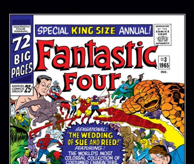 FANTASTIC FOUR ANNUAL #3 COVER