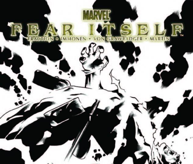 FEAR ITSELF 3 3RD PRINTING VARIANT
